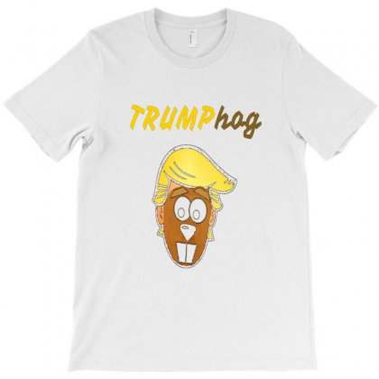 Trump Grounhog T-shirt Designed By Ibrahem Hassaan
