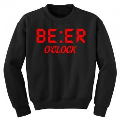 Beer O'clock Youth Sweatshirt | Artistshot