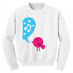 Love Bird Youth Sweatshirt | Artistshot