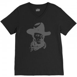 john wayne the duke V-Neck Tee | Artistshot