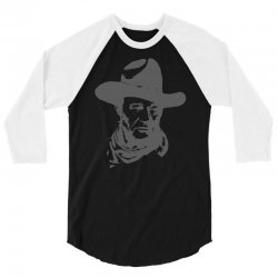 john wayne the duke 3/4 Sleeve Shirt | Artistshot