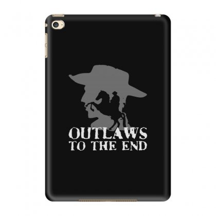 Cowboy Red Dead Ipad Mini 4 Case Designed By Blqs Apparel