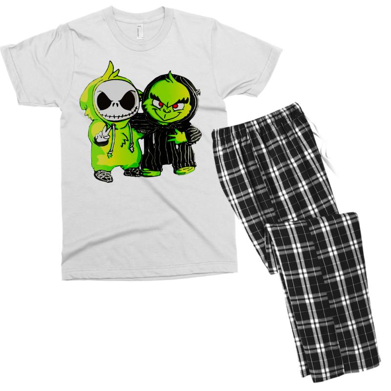 Jack Skellington Mens Christmas Pajama Set