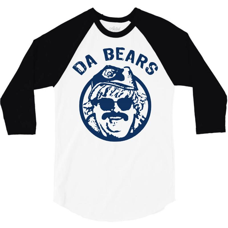 best authentic 25dec 340a1 Chicago Bears Shirt Vintage Chicago Da Bears T Shirt Chris Farley Ditk 3/4  Sleeve Shirt. By Artistshot