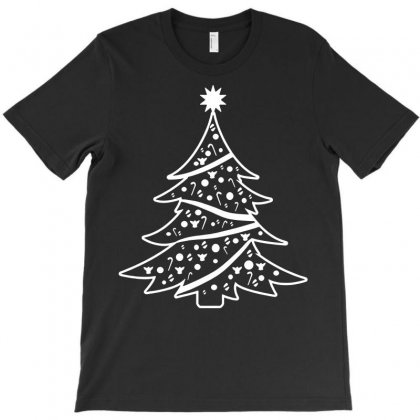 Christmas Tree T-shirt Designed By Tee Shop