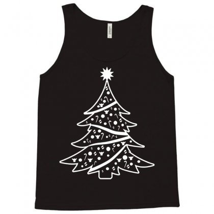 Christmas Tree Tank Top Designed By Tee Shop