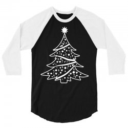 christmas tree 3/4 Sleeve Shirt | Artistshot