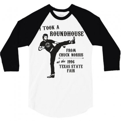 Chuck Norris Shirt Funny Chuck Norris Tshirts Vintage 80s Movie Shirts 3/4 Sleeve Shirt Designed By Tee Shop