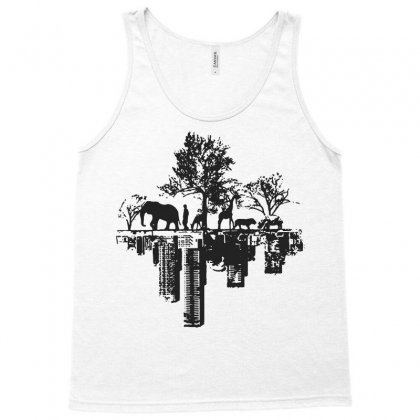 City Downtown Harajuku Funny Hipster Tank Top Designed By Tee Shop