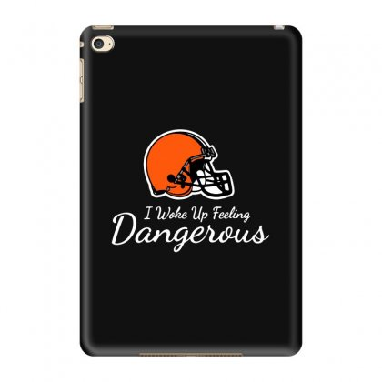 Dangerous Baker Mayfield Brown Football Ipad Mini 4 Case Designed By Blqs Apparel