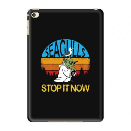 Seagulls Stop It Now-retro Vintage Ipad Mini 4 Case Designed By Blqs Apparel