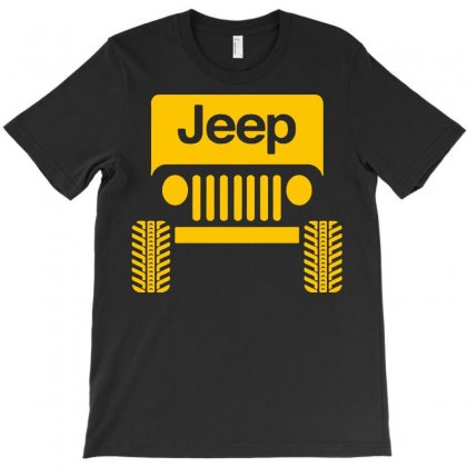 Cool Jeep T-shirt Designed By Tee Shop