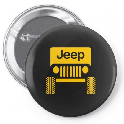 Cool Jeep Pin-back Button Designed By Tee Shop