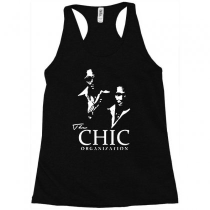 Chic Organization Racerback Tank Designed By Mdk Art