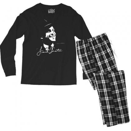 Frank Sinatra Ratpack Men's Long Sleeve Pajama Set Designed By Mdk Art