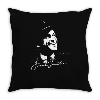 Frank Sinatra Ratpack Throw Pillow Designed By Mdk Art