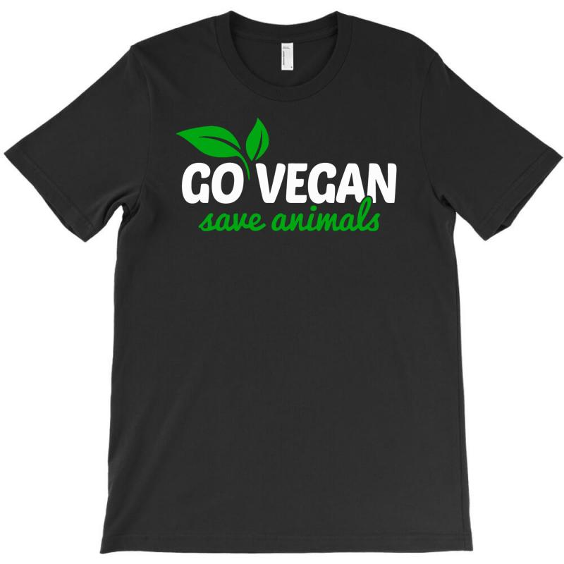Go Vegan Save Animals T-shirt | Artistshot