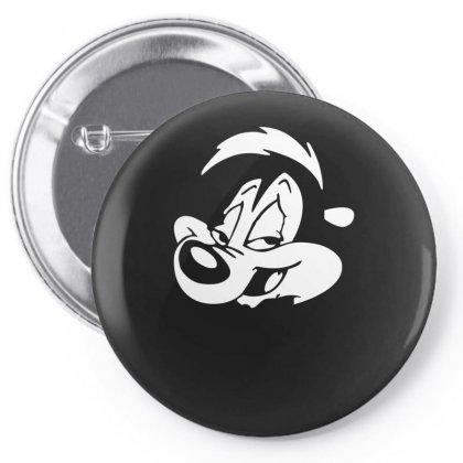 Pepe Le Pew Pin-back Button Designed By Mdk Art