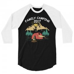 Family Camping 2019 Funny Camp Group Gift T Shirt 3/4 Sleeve Shirt | Artistshot
