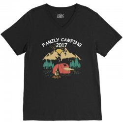 Family Camping 2019 Funny Camp Group Gift T Shirt V-Neck Tee | Artistshot