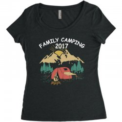 Family Camping 2019 Funny Camp Group Gift T Shirt Women's Triblend Scoop T-shirt | Artistshot