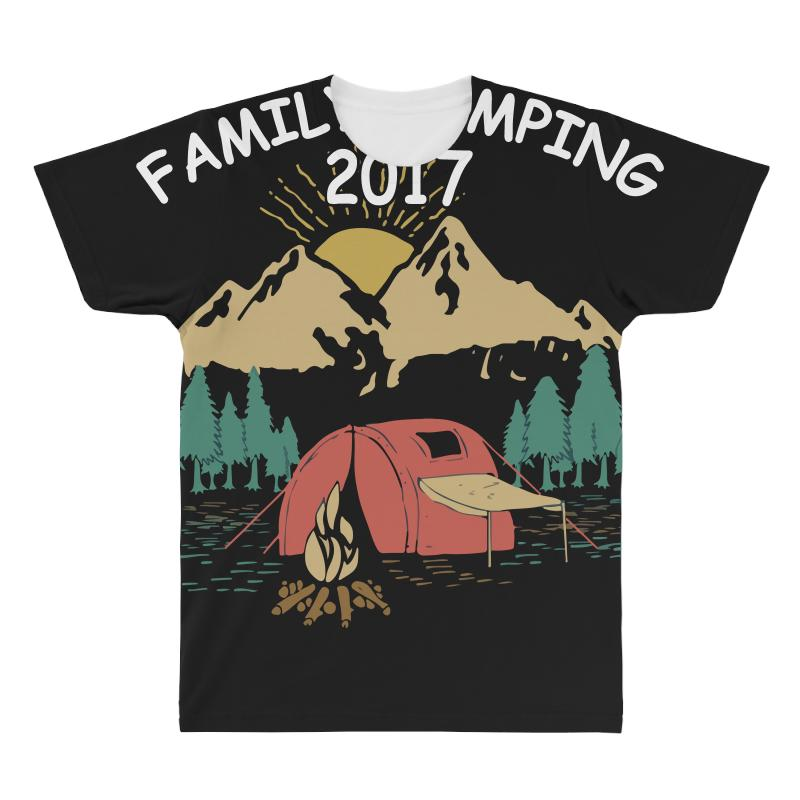 Family Camping 2019 Funny Camp Group Gift T Shirt All Over Men's T-shirt | Artistshot