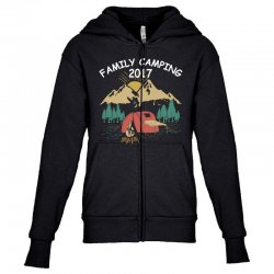 Family Camping 2019 Funny Camp Group Gift T Shirt Youth Zipper Hoodie | Artistshot