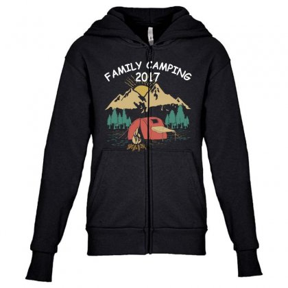 Family Camping 2019 Funny Camp Group Gift T Shirt Youth Zipper Hoodie Designed By Hung