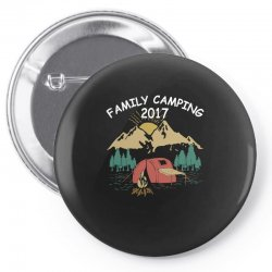 Family Camping 2019 Funny Camp Group Gift T Shirt Pin-back button | Artistshot