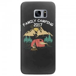 Family Camping 2019 Funny Camp Group Gift T Shirt Samsung Galaxy S7 Edge Case | Artistshot