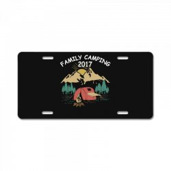 Family Camping 2019 Funny Camp Group Gift T Shirt License Plate | Artistshot