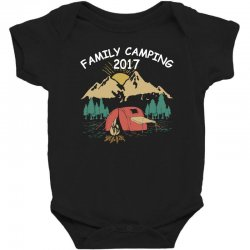 Family Camping 2019 Funny Camp Group Gift T Shirt Baby Bodysuit | Artistshot