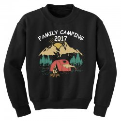 Family Camping 2019 Funny Camp Group Gift T Shirt Youth Sweatshirt | Artistshot