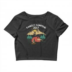 Family Camping 2019 Funny Camp Group Gift T Shirt Crop Top | Artistshot