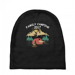 Family Camping 2019 Funny Camp Group Gift T Shirt Baby Beanies | Artistshot