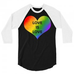 love is love 3/4 Sleeve Shirt | Artistshot