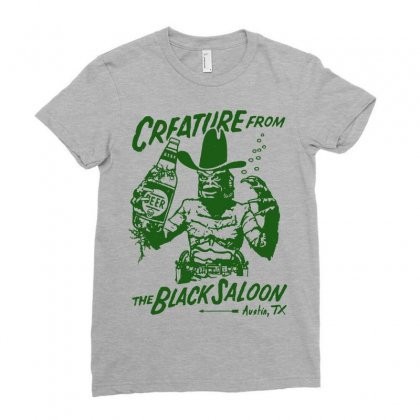 Creature From The Black Lagoon T Shirt Funny Beer T Shirt Bar Pub Shir Ladies Fitted T-shirt Designed By Tee Shop