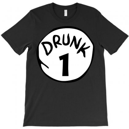 Drunk 1 St Patrick Day Funny Drunk Beer Pong Drunk 1 T-shirt Designed By Tee Shop