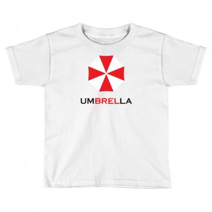 Resident Evil Logo Umbrella Corporation Zombie Videogames Toddler T-shirt Designed By Mdk Art