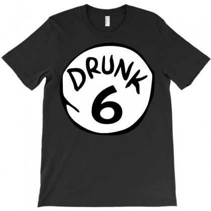Drunk 6 St Patrick Day Funny Drunk Beer Pong Drunk 6 T-shirt Designed By Tee Shop