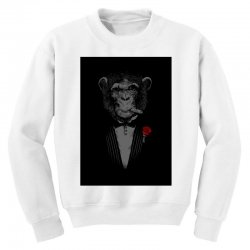 Monkey Busniseman Youth Sweatshirt | Artistshot
