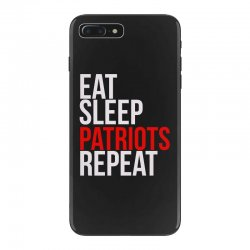 newest collection d85d9 3b012 Eat Sleep Patriots Repeat Football Fan Iphone 7 Plus Case. By Artistshot