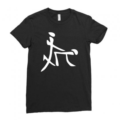 China Sex Symbol Ladies Fitted T-shirt Designed By Mdk Art