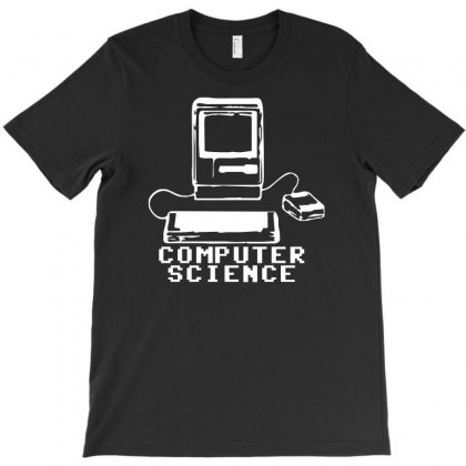Computer Science Pc Nerd Gamer Zocker Shooter Funny T-shirt Designed By Mdk Art