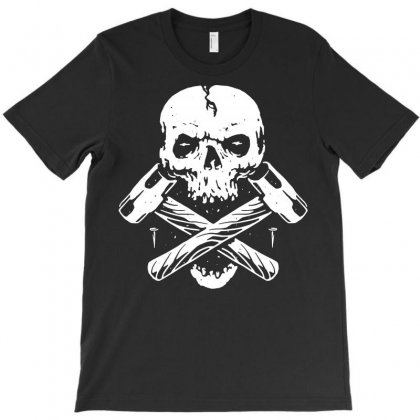 Skull Hammer T-shirt Designed By Quilimo