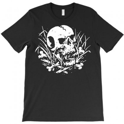 Dark Nature T-shirt Designed By Quilimo