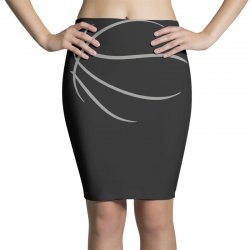 basketball sport bball streetball sportswear usa baskets ball Pencil Skirts | Artistshot
