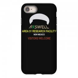 funny alien conspiracy theory roswell area 51 iPhone 8 Case | Artistshot