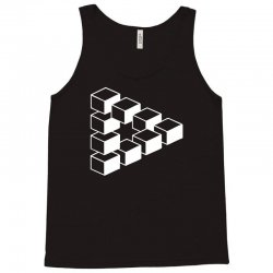 sheldon dreieck big bang theory triforce illusion 3d nerd fun usa Tank Top | Artistshot