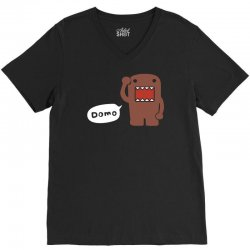 domo kun japanese tv, anime, manga comics V-Neck Tee | Artistshot